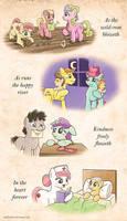 EqD ATG II - Day 21 - Ponies Helping