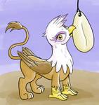 Gilda With a Cuttlebone