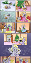 Comic - Hearth's Warming Together by muffinshire