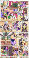 Comic - Twilight's First Day #19 by muffinshire