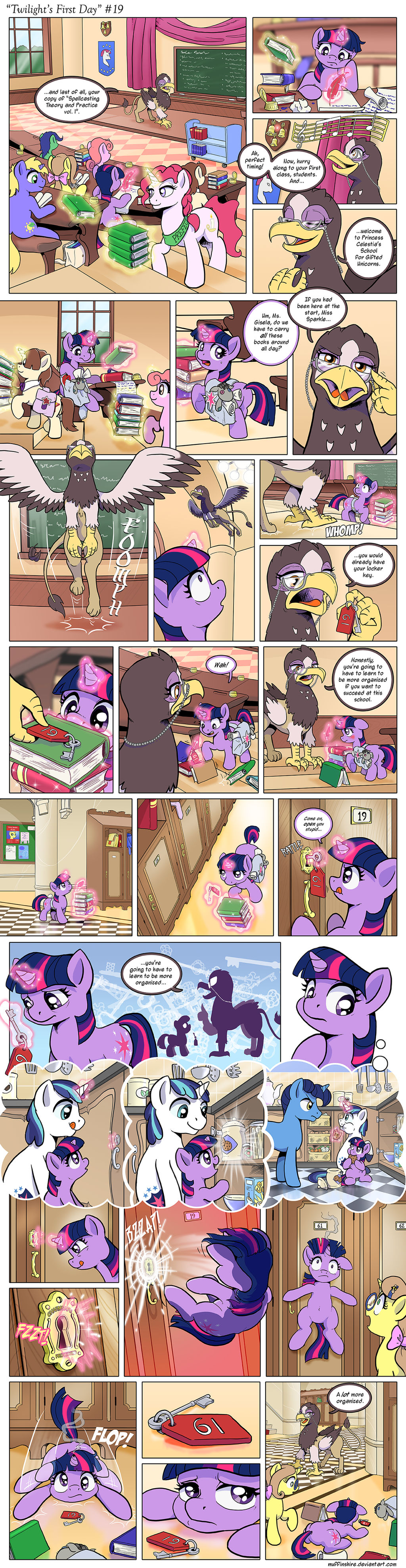 Comic - Twilight's First Day #19