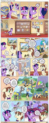 Comic - Twilight's First Day #28 by muffinshire