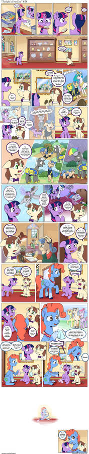 Comic - Twilight's First Day #28