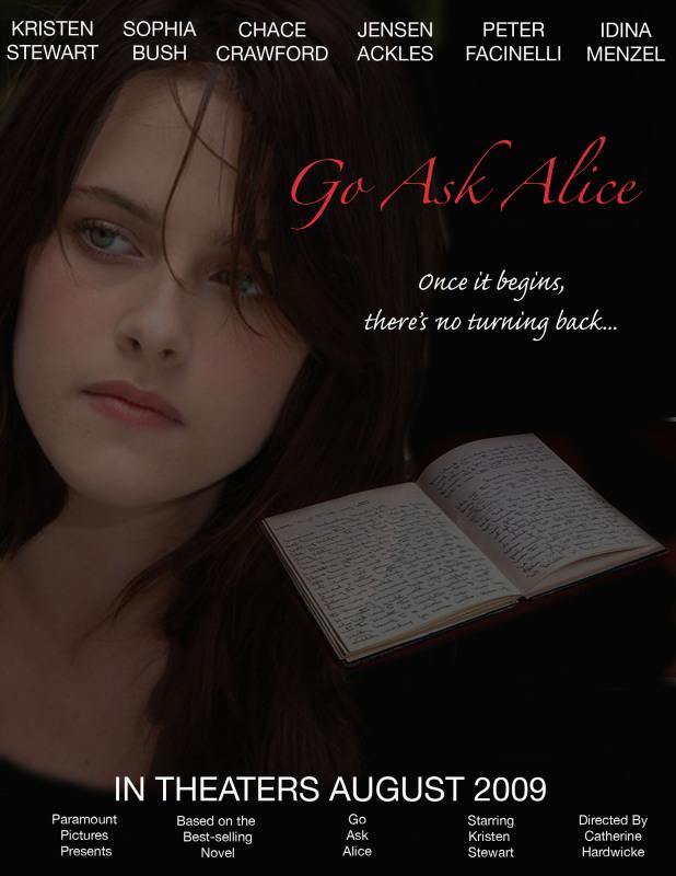 go ask alice book report summary