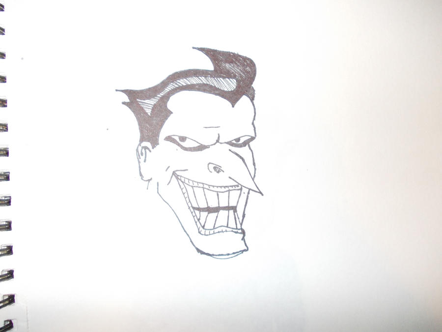 Joker Cartoon Drawings Cake Ideas and Designs