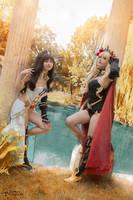 Rin Ishtar - Ereshkigal - Fate Grand Order by Lanaluuv