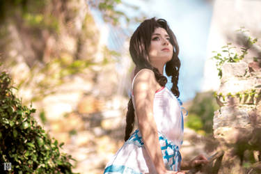 Aerith - FFVII Crisis Core by Lanaluuv