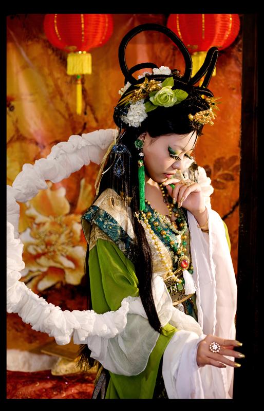 Jade Phoenix by shadowcos
