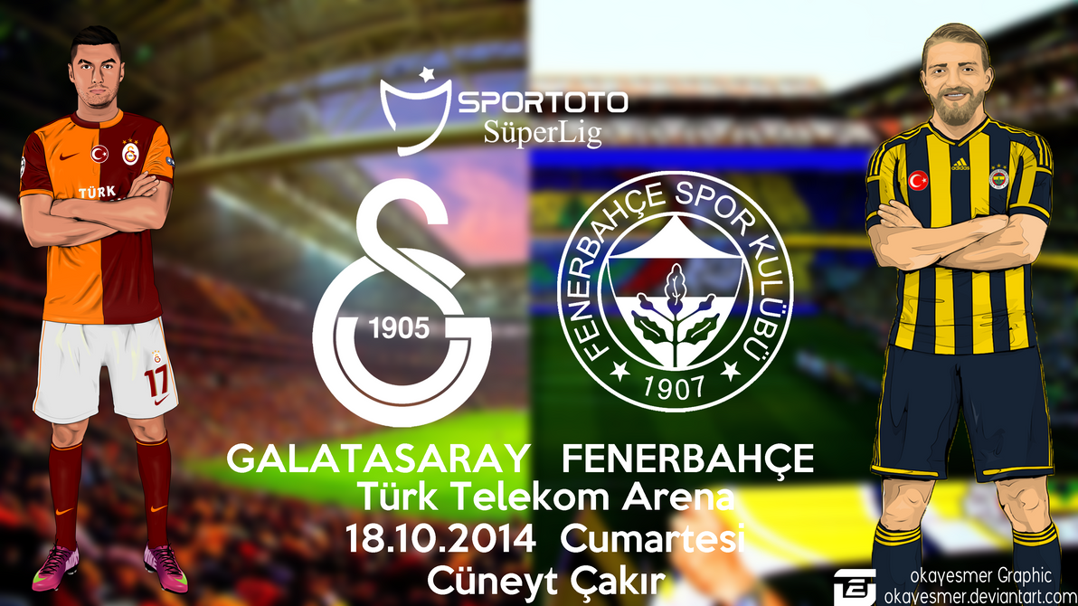 Galatasaray vs Fenerbahce | Derbi Calismasi by okayesmer ...