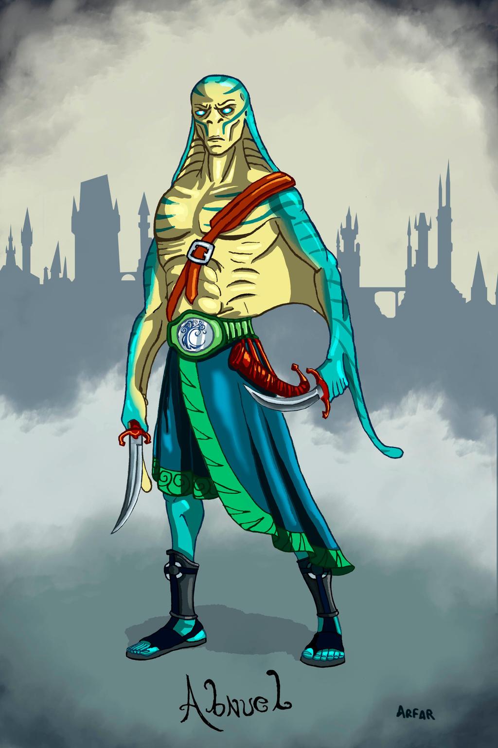 Abnuel Simic Hiblid Sorcerer By Arfar29 On Deviantart