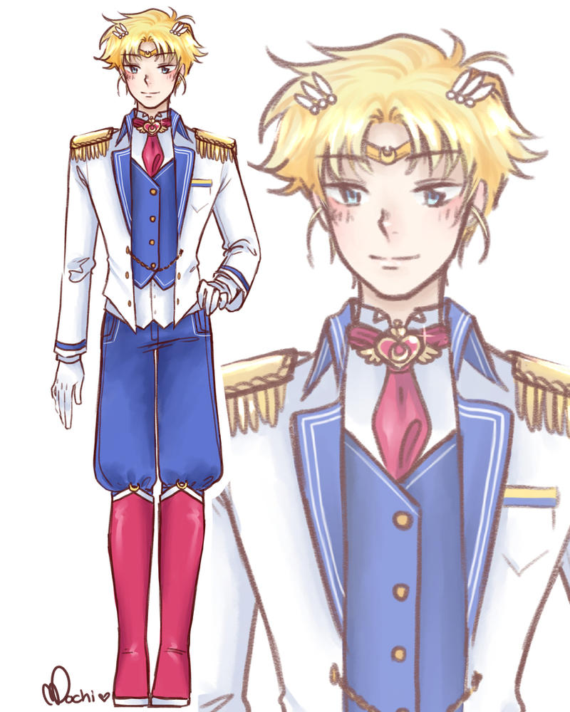 Male! Sailor Moon Character Concept by Mochi-Mochiron
