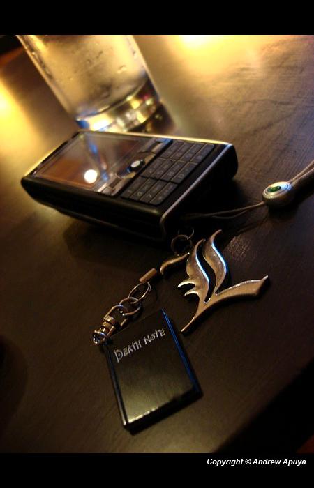 Death Note K800i by andrewapuya