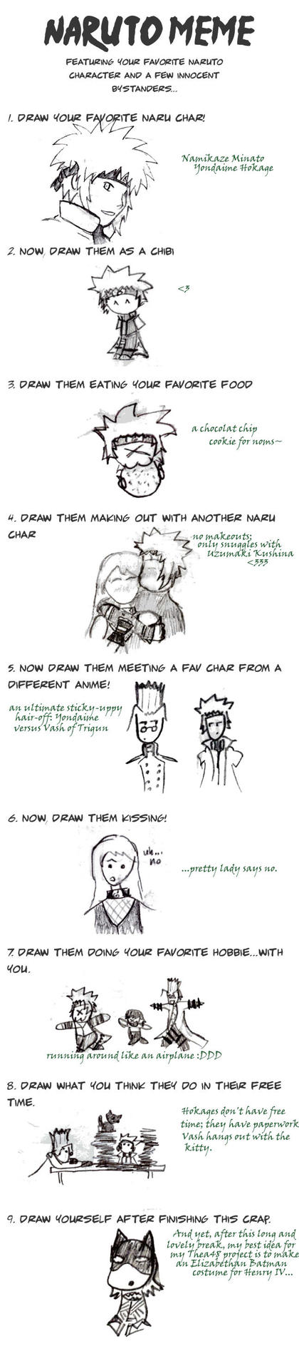Cilriaco's Naruto Meme: 4th by semchance