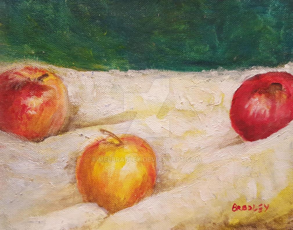 Three Apples by melbradley