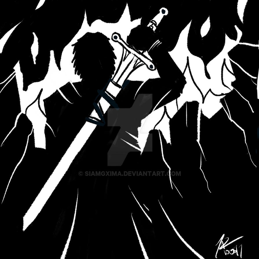 Inktober 2017 : Sword by siamgxIMA