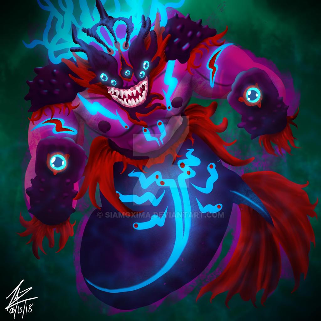 MerMay 15... Behemoth by siamgxIMA