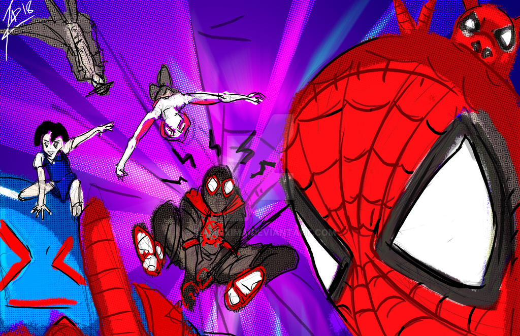 ReSPECTs... Into the SPIDERVERSE quickie! by siamgxIMA