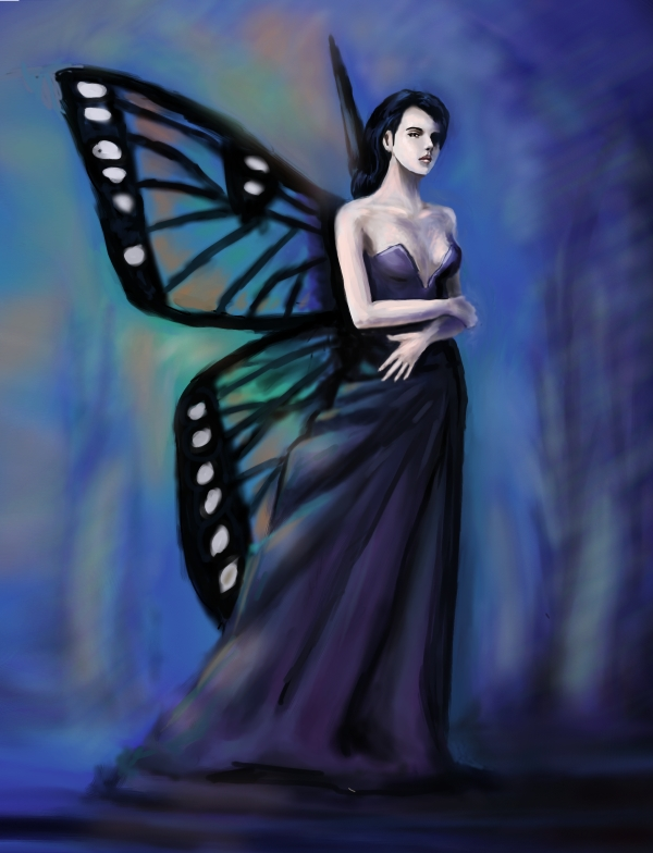 Winged Fairy by Hyunster