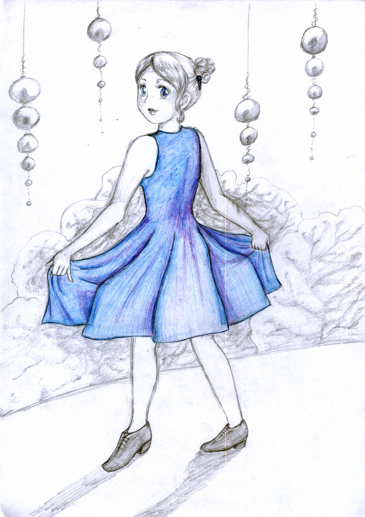 Blue Dress by chibinia