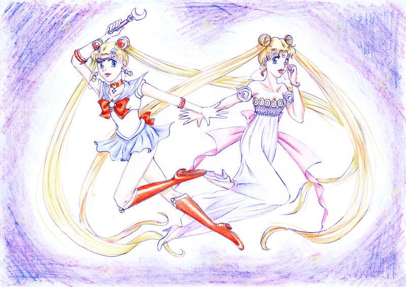 Sailor Moon Crystal by chibinia