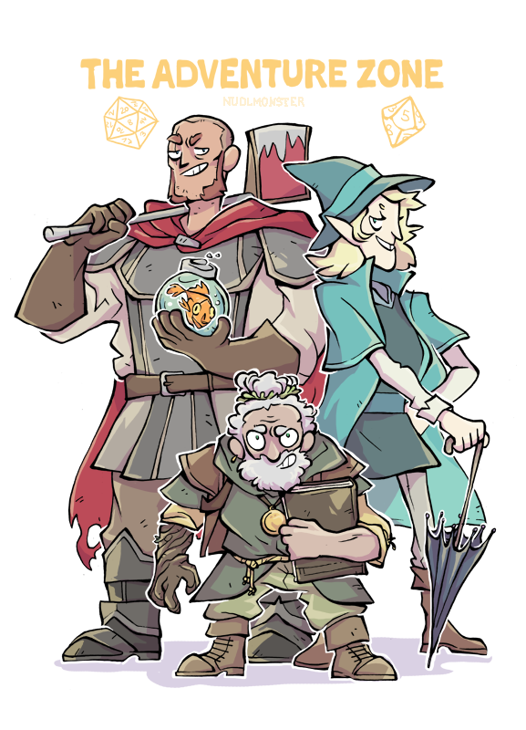 the adventure zone by insanenudl on deviantart