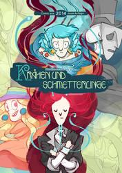 Kraehen und Schmetterlinge: new Cover by InsaneNudl