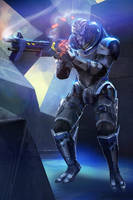 ME3 Garrus: Scoped and Dropped by axl99