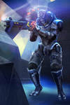 ME3 Garrus: Scoped and Dropped