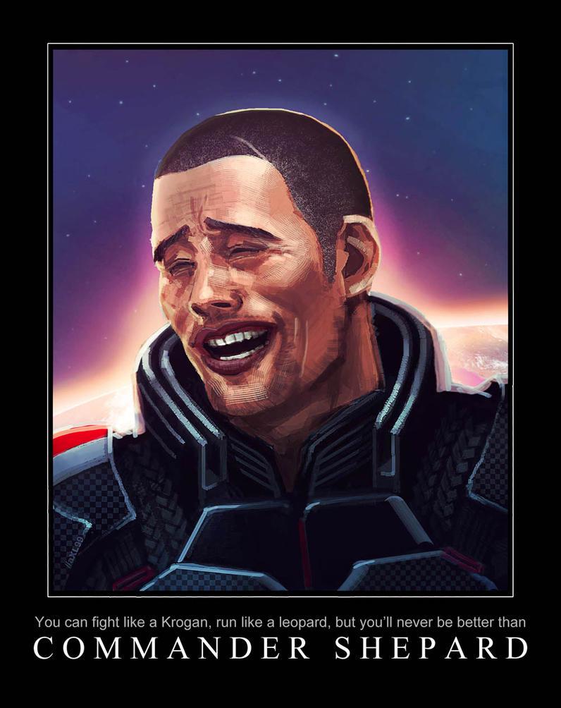 commander shepard funny mass effect