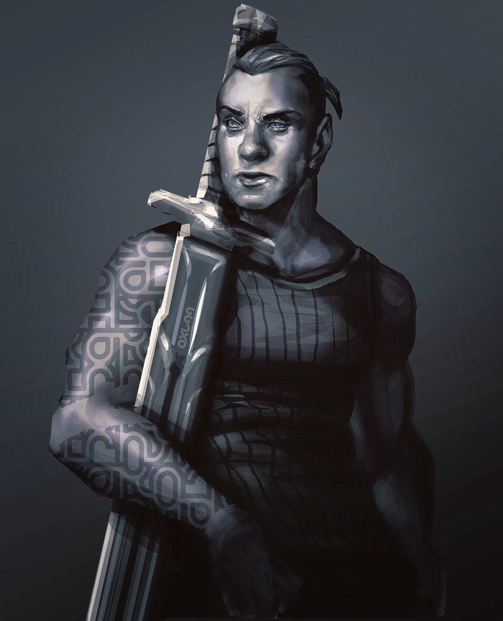 Swordsman by axl99