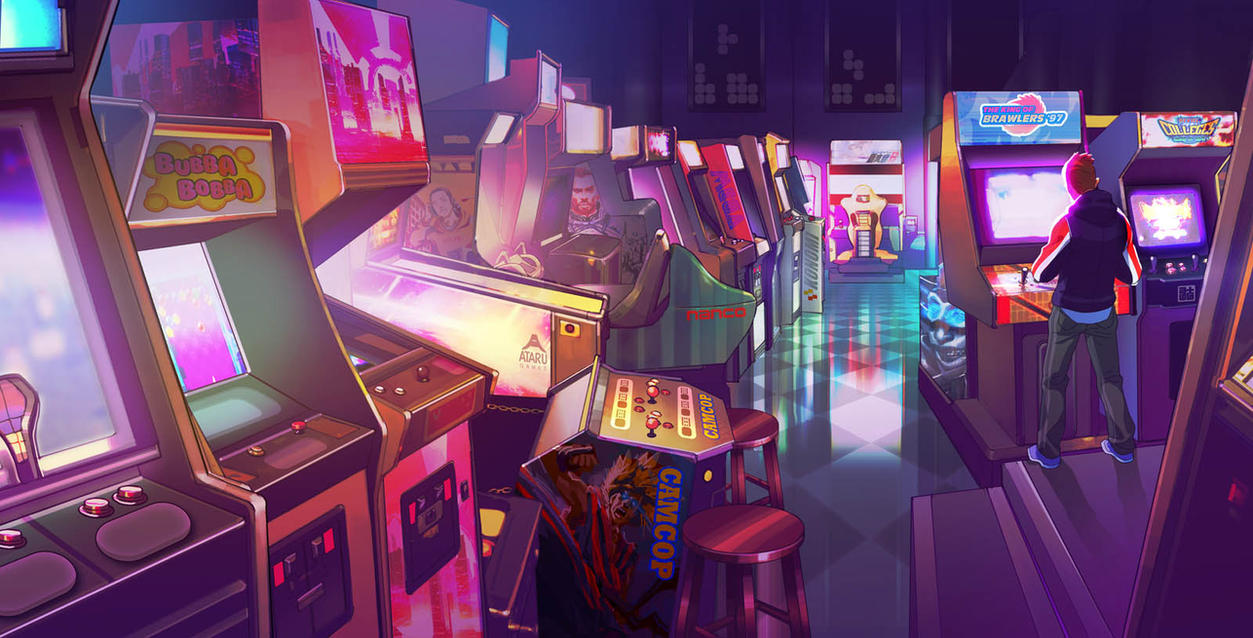 The Glory Days - The Arcade by axl99
