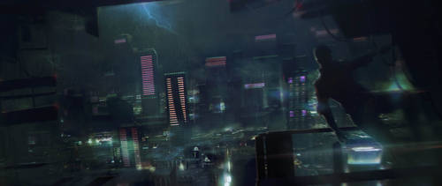 Storm Watch City by axl99