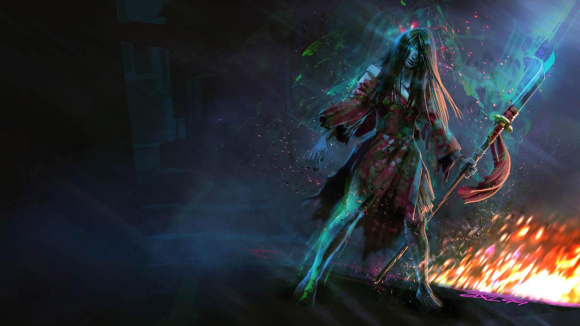 Killer Instinct - Hisako by axl99
