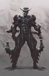 Bio armor dude by axl99