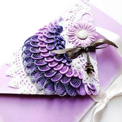 quilling envelope Paris
