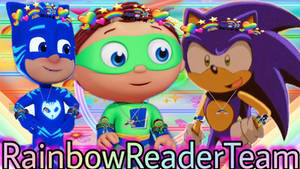 My fav boys wearing there RainbowReader Style