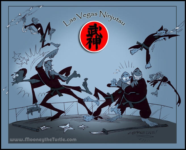 Las Vegas Ninjutsu by Carnival-Werewolf