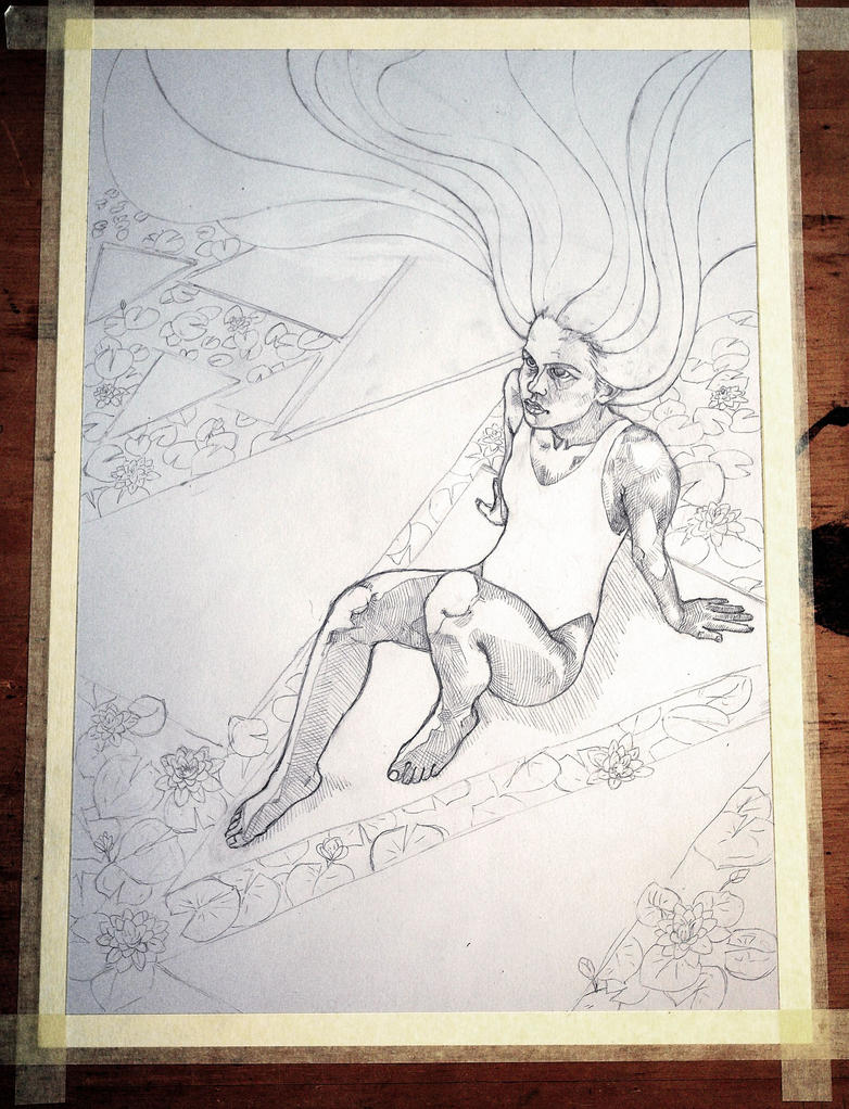 Water Lily (WIP) by ViktorValaki