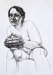 Waiting (study) by ViktorValaki