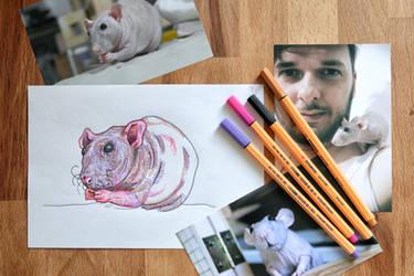 Mirko (study) by ViktorValaki