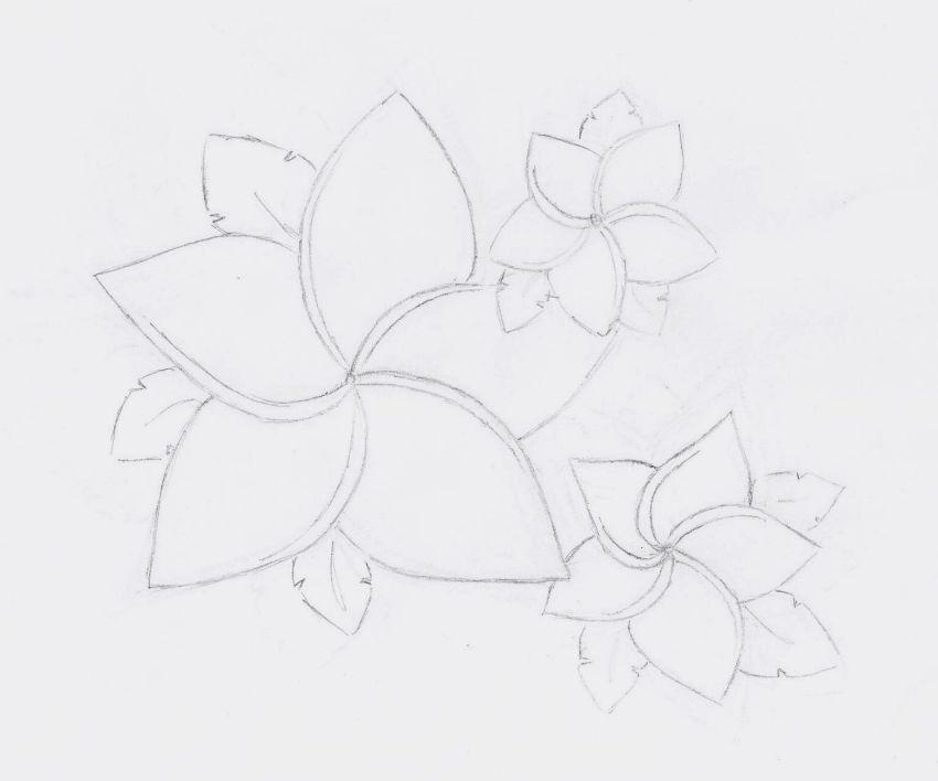 Hawaiian flower tattoo by johannabananabates on deviantart for Hibiscus flower tattoo sketches