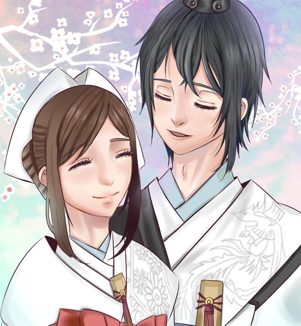 shun x saki from the new world by littlespaghettixx on