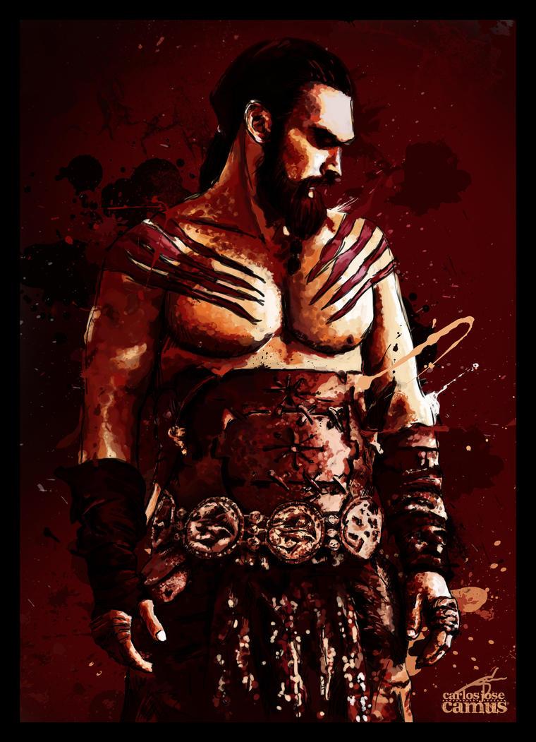 Khal Drogo by hvfndr