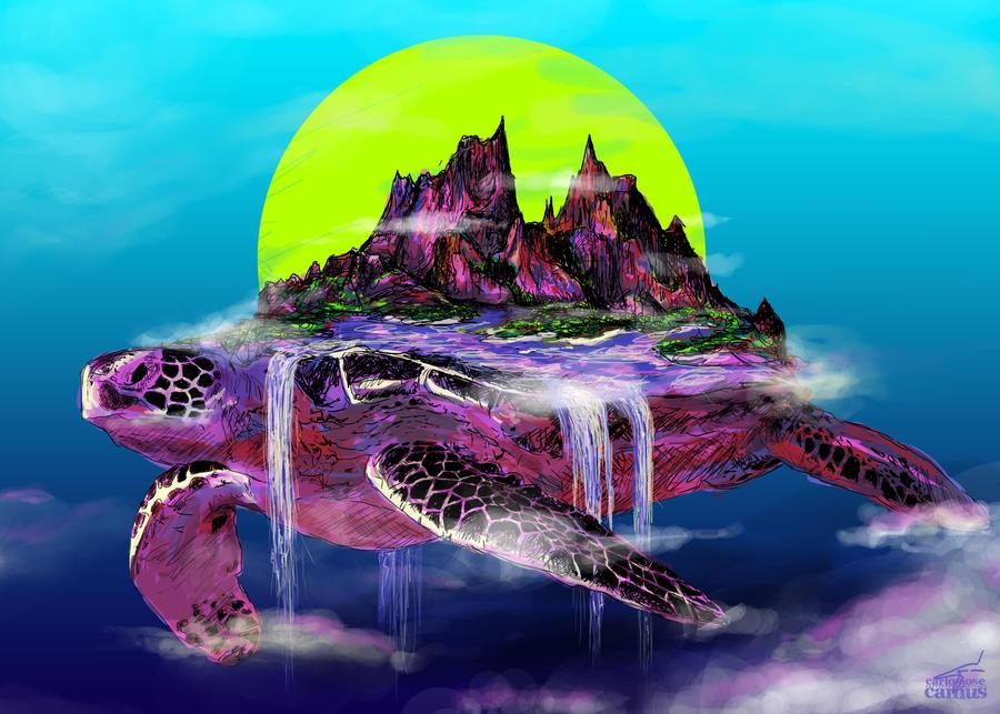 Turtle Paradise by hvfndr