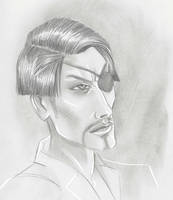 Majima Portrait by 0torno