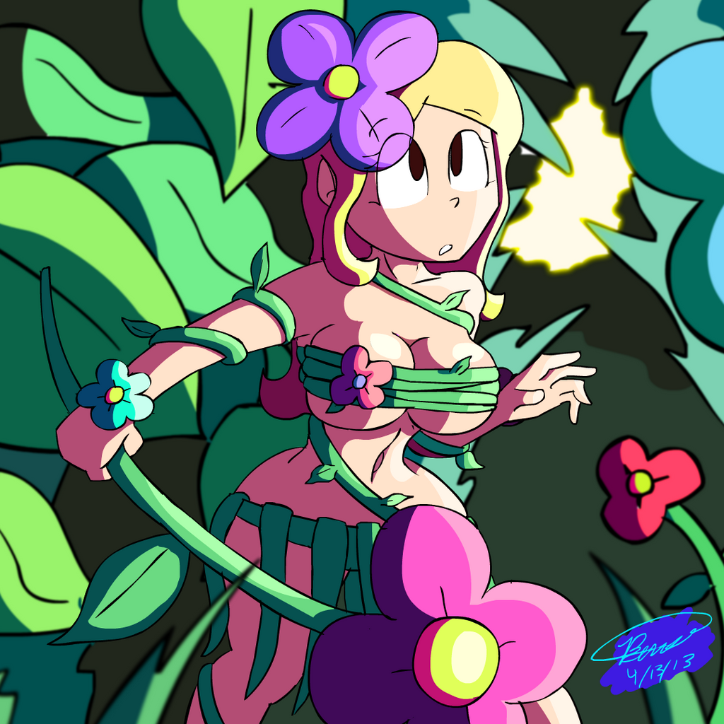 Sexy dryad from terraria porn scene