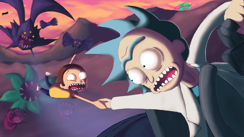 I Gotcha, Morty! by Twisted4000