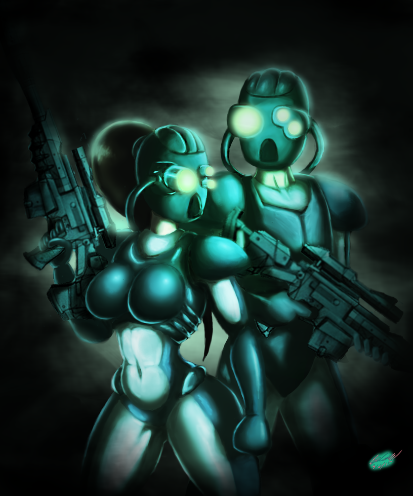 StarCraft Ghosts by Twisted4000