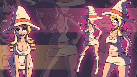 Three Hildas by Twisted4000