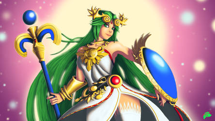 Palutena | Kid Icarus by Twisted4000